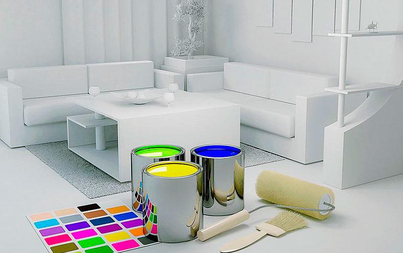 Pintar tu hogar antes de mudarte